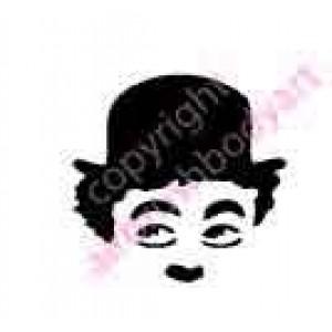0299 charlie chaplin reusable stencil